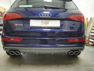 Audi before towbar fitting